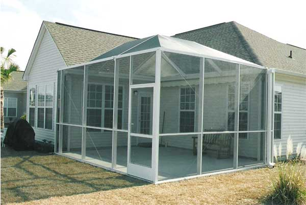 An Engineered Screened Porch System By C Breeze Enterprises. Call Us For A  Quote